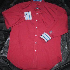 Robert Graham X Long Sleeve Button Front Shirt